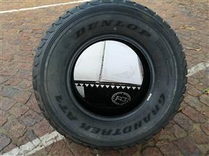 Dunlop Grandtrek AT1  265/70R16 115R LT tyre still new