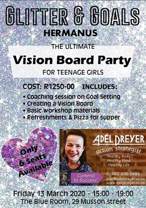 Glitter & Goals - Vision Board Party for Teens