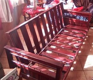 Sleeper Couch Wooden