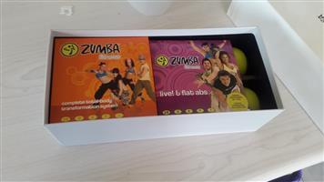 Zumba exercise set