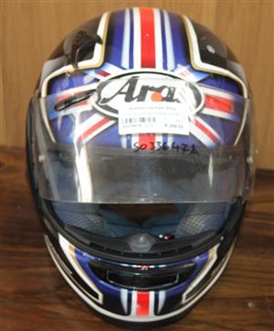Arai motorbike helmet S033647A #Rosettenvillepawnshop