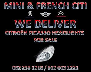 CITROËN PICASSO HEADLIGHTS FOR SALE