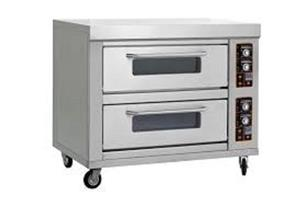 New Double Deck Oven - 4 Tray