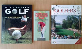 All 3 golf books for R100.