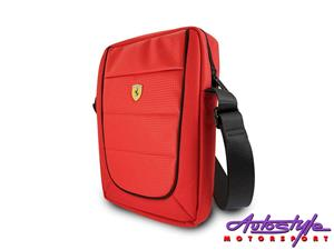 Ferrari Scuderia 10 INCH Tablet Bag red