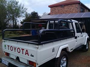 Totota Land Cruiser bin rails