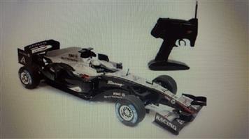 Seeking broken F1 race car 1/10 scale