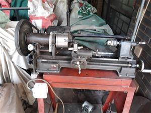Small metal turning lathe for sale   Junk Mail