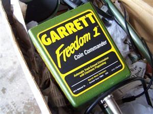 Garret Freedom 1 Coind Detector