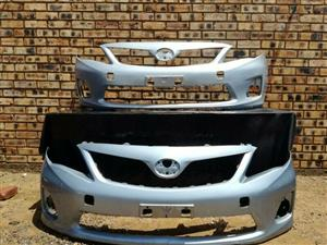 Toyota Corolla Professional FACELIFT Front Bumper