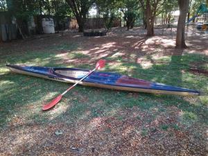 Enkel en Dubbel Kayak te koop!