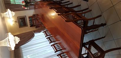Diningroom set and antique organ