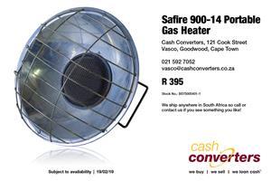 Safire 900-14 Portable Gas Heater