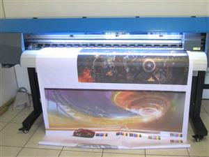 F-1863/ECO FastCOLOUR 1860mm EPSON® DX5 Printhead Large-Format ECO Solvent Ink Inkjet