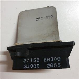Nissan Almera 2006 Blower Fan Resistor