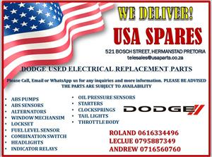 DODGE USED ELECTRICAL REPLACEMENT PARTS (FOR SALE)