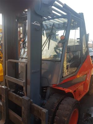 Used 7 ton Linde forklift for sale