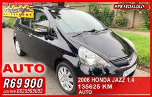 2006 Honda Jazz 1.4 LX automatic