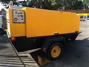 Atlas Copco 300cfm Mobile Diesel Compressor