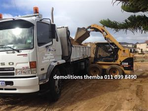 Demolition Johannesburg call 011 039 8490