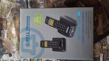 Bell Studio 4200 Duo (2) Cordless Phones