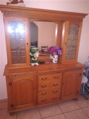 Dining room display case