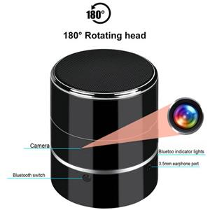 Spy Shop Cyber December Deals - Rotating Spy Camera Speaker
