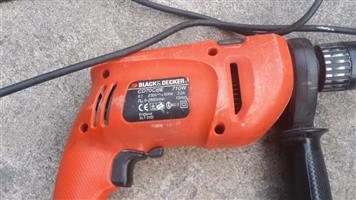Drill Hammer Action - Black and Decker