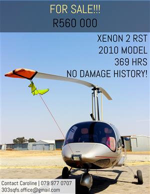 Beautiful Xenon RST gyrocopter for sale