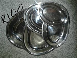 Stainless steel trays for sale