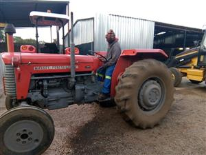 Red Massey Ferguson (MF) 65 38kW Pre-Owned Tractor