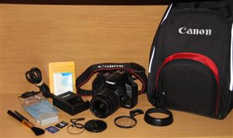 Canon 500D SLR Camera with canon 18-55mm lens