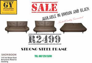 Steel Frame Sleeper Couch