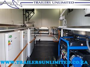 TRAILERS UNLIMITED. 2400 X 1600 X 2000 ECONOMIC CATERING TRAILERS. R31 000. EXCL.