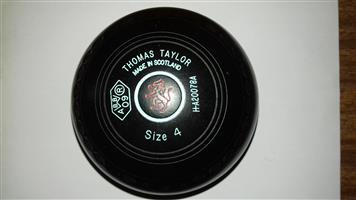 LAWN BOWLS TAYLOR INTERNATIONAL SIZE 4