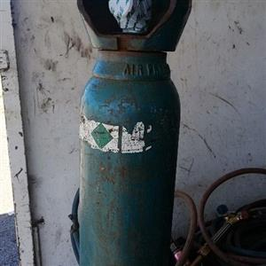 Im selling a full sealed argon gas bottle NB Im selling the small Argon gas bottle