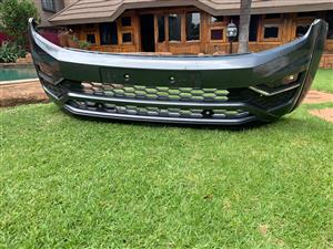 2018 - 19 AMAROK COMPLETE FRONT BUMPER WITH GRILLS AND FOG LIGHTS FOR SALE