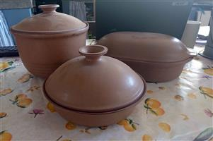 ARGILLA POTTERY for Sale Set of 3