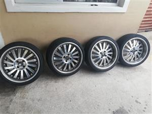 I'm selling my rims with tires 17""