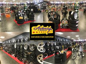 mag alloy rim and tyre clearance brand new. widest range mags rims tyres brand new.