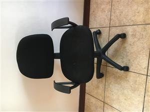 Typist Chair - Black