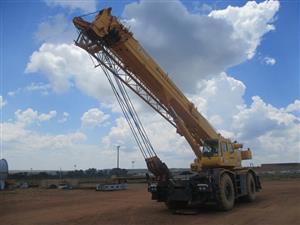 Tadano GR550, 55 Ton Mobile Crane