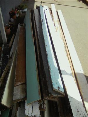 Reclaimed Oregon pine skirting boards for sale