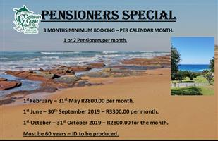 Pensioner Monthly Specials