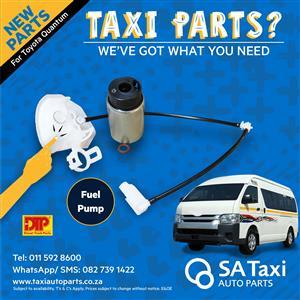 NEW Fuel Pump suitable for Toyota Quantum - SA Taxi Auto Parts quality taxi spares