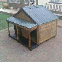 Custom built dog kennels