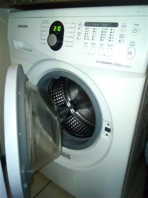 Samsung 6kg Ecobubble Washing machine