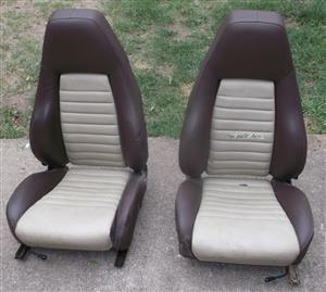 Porsche original tombstone style seats for sale
