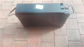 12v 170 ah deep cycle acid lead battery