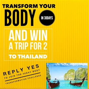 Win a trip to Thailand for 2